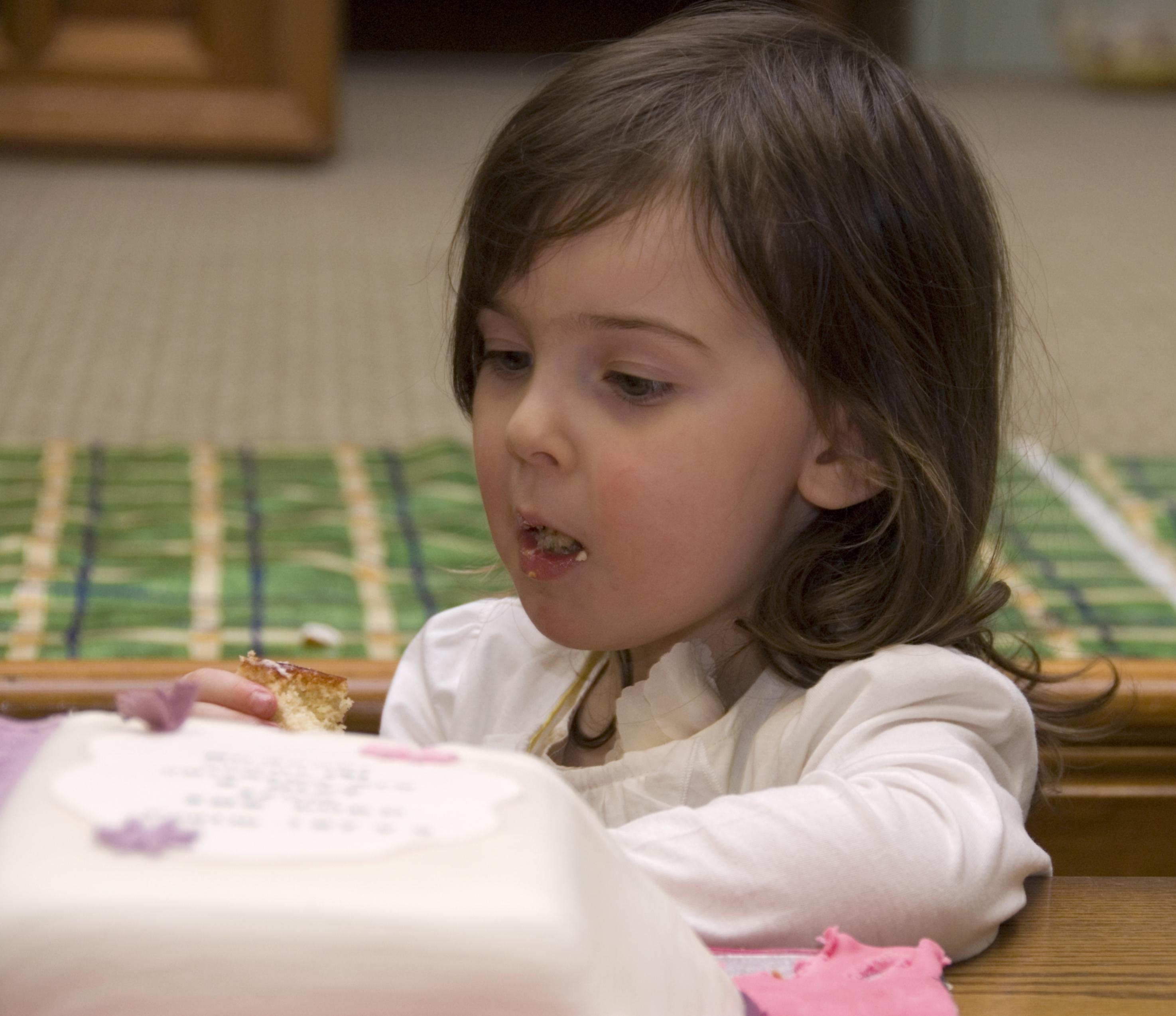 Yummy cake, Agnes!